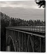 Bridge To Dawn Canvas Print