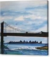 Bridge To Europe Canvas Print