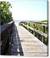 Bridge To Paradise Gp Canvas Print
