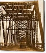 Bridge To Savannah Canvas Print