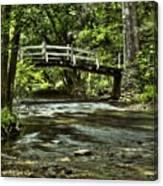 Bridge To Serenity Canvas Print