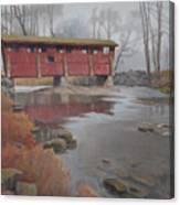 Bridge To Sleepy Hollow Canvas Print