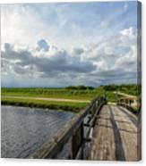 Bridge To The Bayou Canvas Print