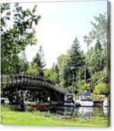 Bridge To The Club Canvas Print