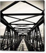 Bridge To The Past Canvas Print