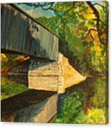 Bridge To Windham, Maine Canvas Print