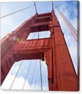 Bridge Tower Canvas Print