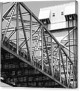 Bridge Willmington Nc Canvas Print