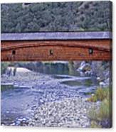 Bridgeport Covered Bridge Canvas Print