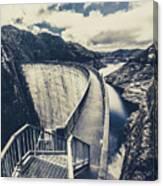 Bridges And Outback Dams Canvas Print