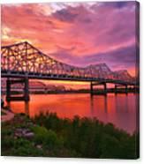 Bridges At Sunrise II Canvas Print