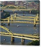 Bridges Of Pittsburgh Canvas Print