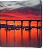 Bridgescape Canvas Print