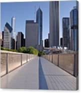 Bridgeway To Chicago Canvas Print