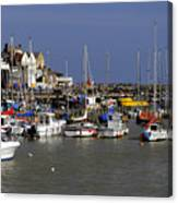 Bridlington Harbour Canvas Print