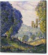 Bridlington Priory From Woldgate On The Hockney Trail Canvas Print