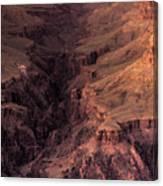 Bright Angel Canyon Grand Canyon National Park Canvas Print