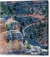 Bright Angel Trail @ Grand Canyon Canvas Print