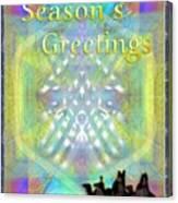 Bright Chalice Tree N 3 Kings Canvas Print