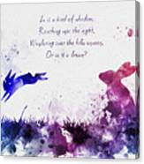 Bright Eyes 2nd Edition Canvas Print