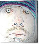 Bright Face Canvas Print