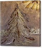 Bright Star For Light Canvas Print