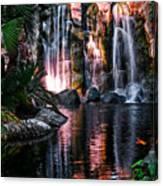 Bright Waterfalls Canvas Print