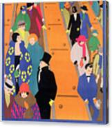 Brightest London Is Best Reached By Underground Canvas Print