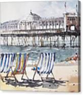 Brighton England Canvas Print