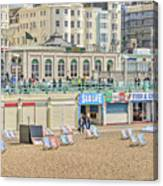 Brighton Seaside  Canvas Print