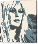 Brigitte Bardot Poster 2 Canvas Print