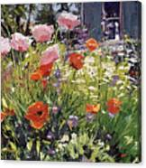 Brilliant Garden Canvas Print