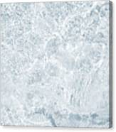 Brilliant Shine. Series Ethereal Blue Canvas Print