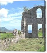 Brimstone Ruins Canvas Print