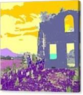 Brimstone Sunset Canvas Print
