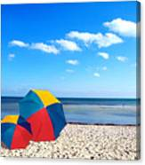Bring The Umbrella With You Canvas Print