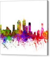Brisbane Australia Cityscape 02 Canvas Print
