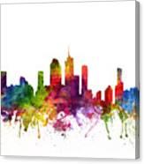 Brisbane Australia Cityscape 06 Canvas Print