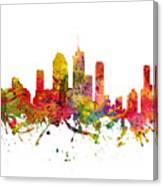 Brisbane Australia Cityscape 08 Canvas Print