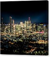 Brisbane Cityscape From Mount Cootha #7 Canvas Print