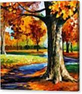 Bristol Fall  Canvas Print