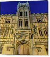 Bristol Guildhall By Night Canvas Print