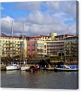 Bristol Harbour Appartments Canvas Print