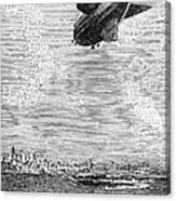 British Airship, 1919 Canvas Print