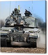 British Army Challenger 2 Main Battle Tank   Canvas Print