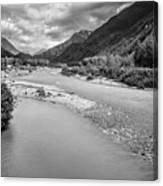 British Columbia White Pass Panorama Canvas Print