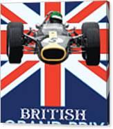 British Lotus Canvas Print