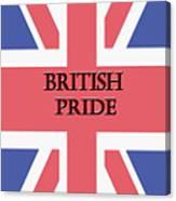 British Pride Canvas Print