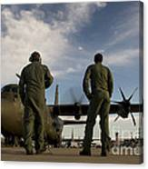 British Royal Air Force C-130j Canvas Print