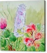 British Wild Flowers Canvas Print